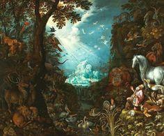El arca de Noé. ca. 1628. Roelant Savery