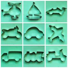 Various of Vehicles Cookie Cutter Train Car Truck Motorcycle Scooter Plane Helicopter Yacht Formula racing car Biscuit Pastry Fondant Mold by Beonly on Etsy https://www.etsy.com/listing/534985927/various-of-vehicles-cookie-cutter-train