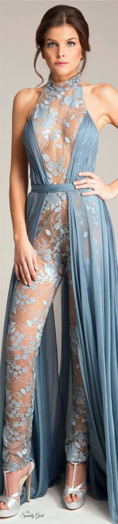 Abed Mahfouz Spring 2016 Couture women fashion outfit clothing style apparel @roressclothes closet ideas