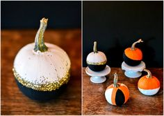 pretty painted pumpkin - Google Search