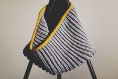 Tutorial: Knitting brioche stitch in the round. Brioche in the round Grey cowl on Knitting Needles