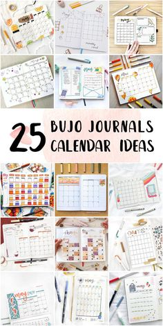 Fun Bullet Journal Monthly Calendar Doodles For College Students - Bullet Journal Minimalist #howtostartbulletjournal #bulletjournalbeginner #bulletjournaldailyspreads