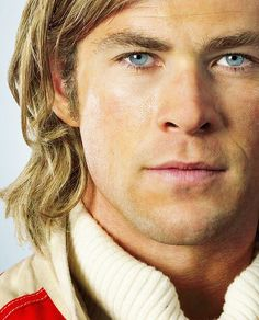Chris Hemsworth in Rush - he amazed me in this movie! Also freaked me out how much he resembles James Hunt!
