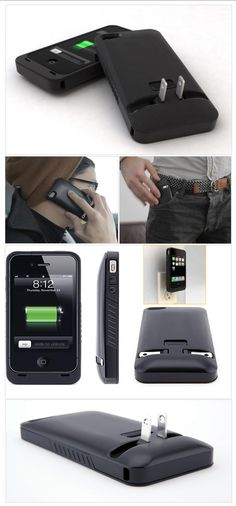 Jahzz ☯ |  ..first iPhone 'Case & Charge in One' - (impressive)