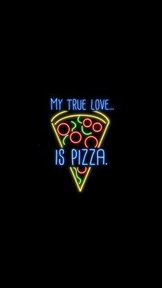 My true love is pizza wallpaper Wallpaper Tumblr Lockscreen, Iphone Wallpaper, Galaxy Wallpaper, Food Wallpaper, Black Wallpaper, Smoke Wallpaper, Trendy Wallpaper, Wallpaper Ideas, Disney Wallpaper