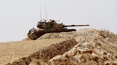 Erste Verluste in Syrien: Kurden greifen türkische Panzer an