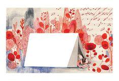 Isabelle Arsenault - Art print - Night in the garden - Sur ton mur - 1