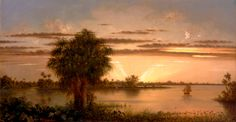 lionofchaeronea: Florida Sunrise, Martin Johnson Heade, ca. 1890-1900