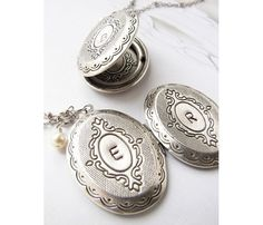 Tana, have you seen these?  Personalized Locket Necklace » These would be wonderful #bridesmaidgifts