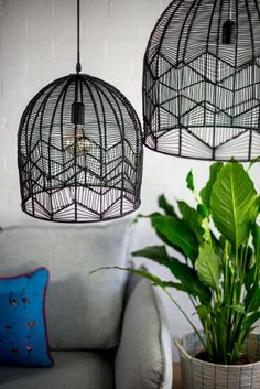 68 Ideas For Basket Rattan Light Fixtures Black Pendant Light, Multi Light Pendant, Black Light Shades, Küchen Design, Shape Design, Rattan Light Fixture, Basket Lighting, Club Lighting, Dining Lighting
