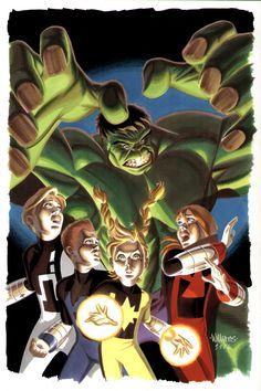 #Hulk #Fan #Art. (Hulk and PowerPack cover) By:BroHawk. (AW YEAH, IT'S MAJOR ÅWESOMENESS!!!™)...............