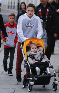 The Beckham Brothers: Strollin' With Harper