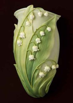Lily of the Valley Wall Vase/Wall Pocket