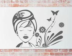 venta de vinilos decorativos para centros de estética, belleza y spa. Los mejores precios en vinilos adhesivos para negocios