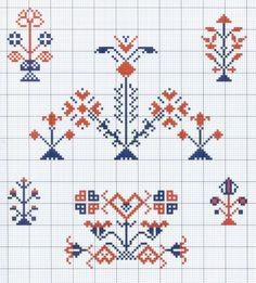 Gallery.ru / Фото #36 - Motif scandinaves traditionnel - Mongia