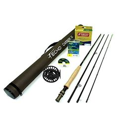 Echo Carbon XL 6904 Fly Rod Outfit 6wt 90 4pc * Read more reviews of the product by visiting the link on the image.