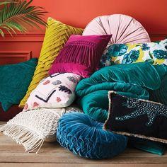 Velvet Fringe Square Pillow - Opalhouse™ : Target