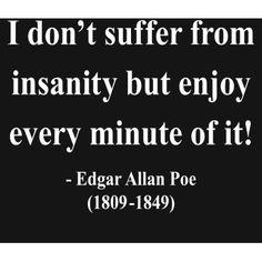 Edgar Allan Poe (American author, poet, editor, and literary critic) Gothic Quotes, Dark Quotes, Me Quotes, Quotable Quotes, Funny Quotes, Edgar Allen Poe Quotes, Edgar Allan Poe, Quiz, Poetry Quotes