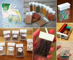 12 Ingenious Ideas to Repurpose Tic Tac Containers - http://www.amazinginteriordesign.com/12-ingenious-ideas-repurpose-tic-tac-containers/
