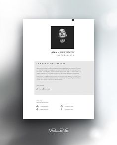 CV / Resume template and cover letter. Professional, creative page design, adjustable layout. Self Branding and presentation. Portfolio Graphic Design, Cv Design, Resume Design, Layout Design, Interior Design Cv, Layout Cv, Page Layout, Identity Design, Brand Identity