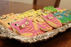 Owl Baby Shower Cookies!