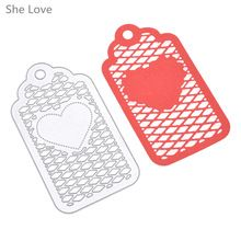 Heart Frame Metal Cutting Dies Scrapbooking Embossing Folder DIY Festival Decor Scrapbooking Template(China (Mainland))