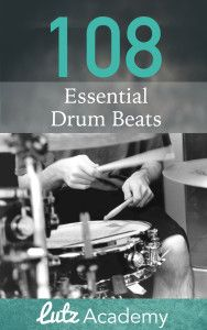 Get a free copy of Lutz Academy's 108 Essential Drum Beats book (includes an easy guide to reading drum notation)! Trommler, Drum Patterns, Online Music Lessons, Drums Beats, Drum Lessons, Backing Tracks, Teaching Music, How To Memorize Things, Ebooks