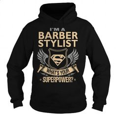 Barber Stylist Job Title - #t shirts online #design tshirts. BUY NOW => https://www.sunfrog.com/Jobs/Barber-Stylist-Job-Title-96250589-Black-Hoodie.html?60505