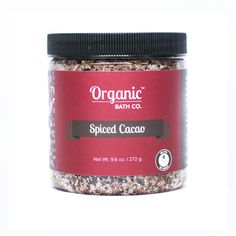 Organic Bath Co. Spiced Cacao Organic Body Scrub