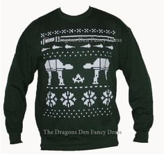 Star Wars Sweater. @Cheryl Zager my favorite color is dark tealy/turquoise, just so you know.