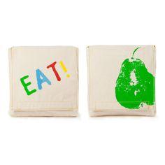 Fluf Reusable Sandwich & Snack Bags (Set of Good Eats Organic Snacks, Eating Organic, Jai Faim, Kids Picnic, Snack Bags, Lunch Bags, Reusable Bags, Clean Eating Snacks, Safe Food