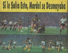 Pudo haber sido un golazo, vs Racing, torneo de verano 1982.