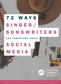 Social media can connect you to your fans. Here are 72 ways to spark your social media presence in a hurry. | http://SongFancy.com