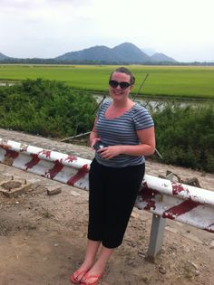 No-mans-land at the Vietnam/Cambodia Boarder. Part of my South East Asia trip in 2013