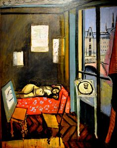 Henri Matisse - Studio, Quai St. Michel at Philips Collection Art Gallery, Washington, DC