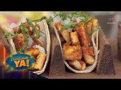 ¡Tacos de pollo al pastor!   Chef Omar Sandoval   Cuéntamelo YA! - YouTube Mexican, Ethnic Recipes, Youtube, Food, Cook, Chicken Tacos, Al Pastor, Essen
