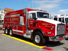 Hopewell Fire and Rescue Tanker NJ new deliveries Firefighter Paramedic, Volunteer Firefighter, Fire Dept, Fire Department, Kenworth Trucks, Dodge Trucks, Fire Equipment, Rescue Vehicles, Fire Apparatus