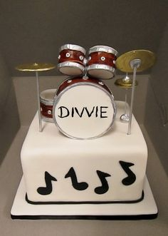 Pleasing 60 Best Drum Cake Ideas Images Drum Cake Music Cakes Cake Funny Birthday Cards Online Bapapcheapnameinfo