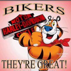 Biker Stuff Tony The Tiger