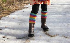 Randiga benvärmare till dottern Knit Leg Warmers, Knitting Socks, To My Daughter, Legs, Children, Fashion, Knit Socks, Young Children, Moda