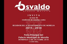 El representante popular de izquierda detallará los logros de las 18 iniciativas, puntos de acuerdo y reglamentos que ha presentado ante el Cabildo de Morelia; el acto de rendición de ...