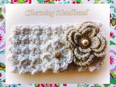 Charming Headband Crochet Pattern