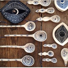 evil eye ceramics More