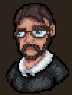 Pixel Art, Fictional Characters, Fantasy Characters