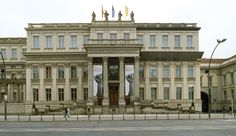 Berlin's Top 10 : Historic Buildings - Zeughaus    Designed by J A Nering as the first Berlin Baroque building, the former Royal Prussian Arsenal is now the Deutsches Historisches Museum, with a modern addition by I M Pei.