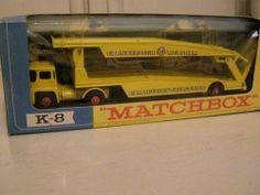 Matchbox Lesney K-8 King Size Car Transporter with box #Matchbox