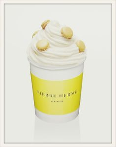 Pierre Hermé  For the Glaces au Macaron macaroon and ice-cream line. Only macaron master Pierre Hermé could have dreamt up the idea of mixing mini macaroons with ice cream, available in vanilla, chocolate, lemon and pistachio for a marriage made in ice-cream heaven.  Points of sale on www.pierreherme.com