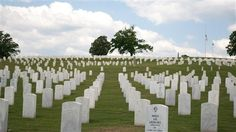 Remembering our veterans this Memorial Day: Nancy Harder shares this photo of Chattanooga National Cemetery in Tennessee.