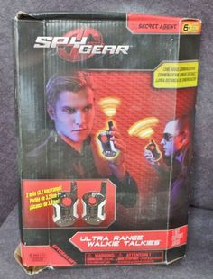Description: Spy Gear Secret Agent Ultra Range Wilkie Talkies Ages 6 and Up/  Item ID: 88 TARGET
