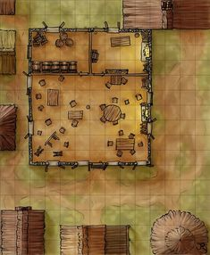 This was created for a supplement for the Pathfinder setting Mor Aldenn by Headless Hydra games. It's a den of thieves riddled with vice and intrigue - the perfect location for the start of an...